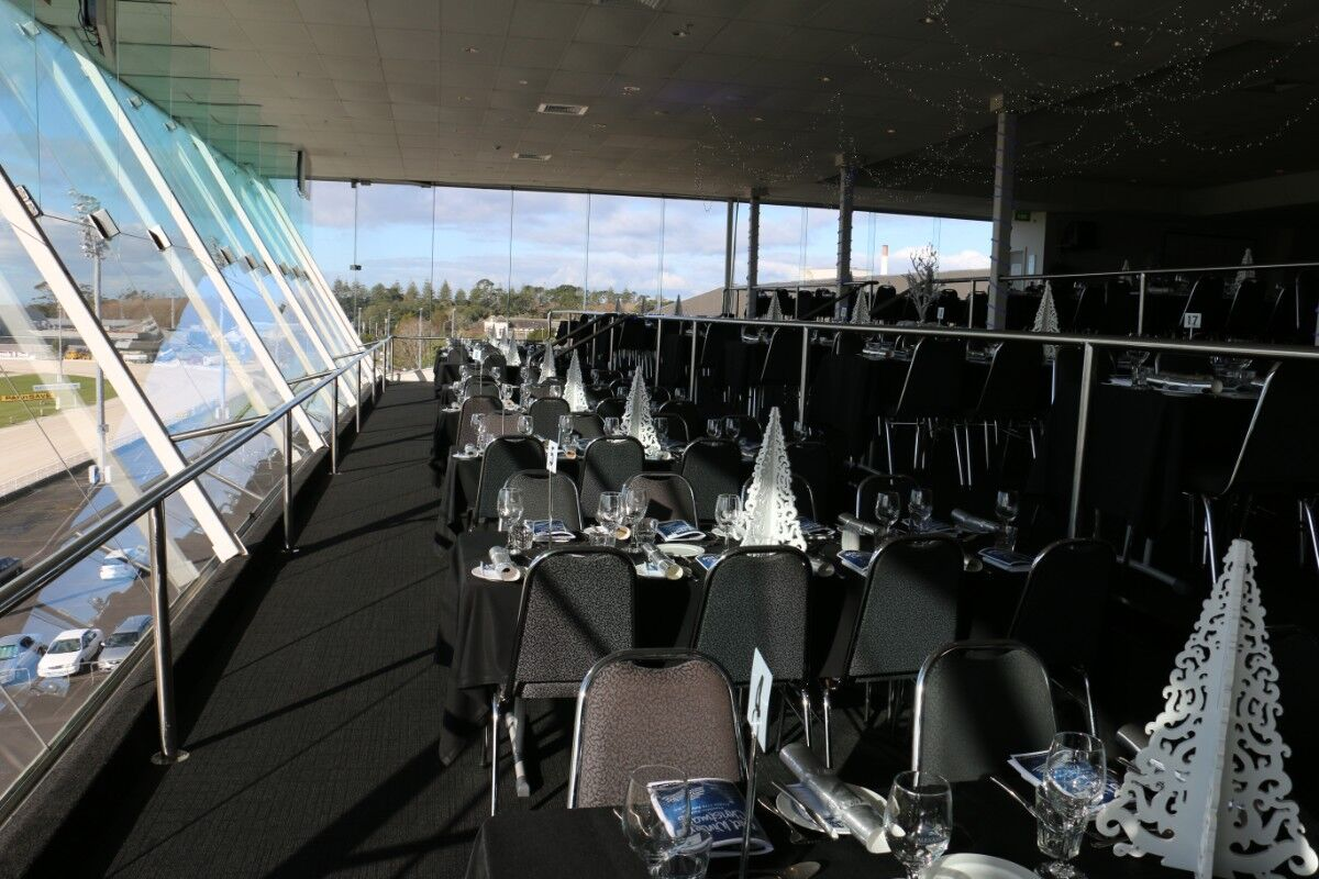 Venue hire in Auckland - Top of the Park at Alexandra Park - great views