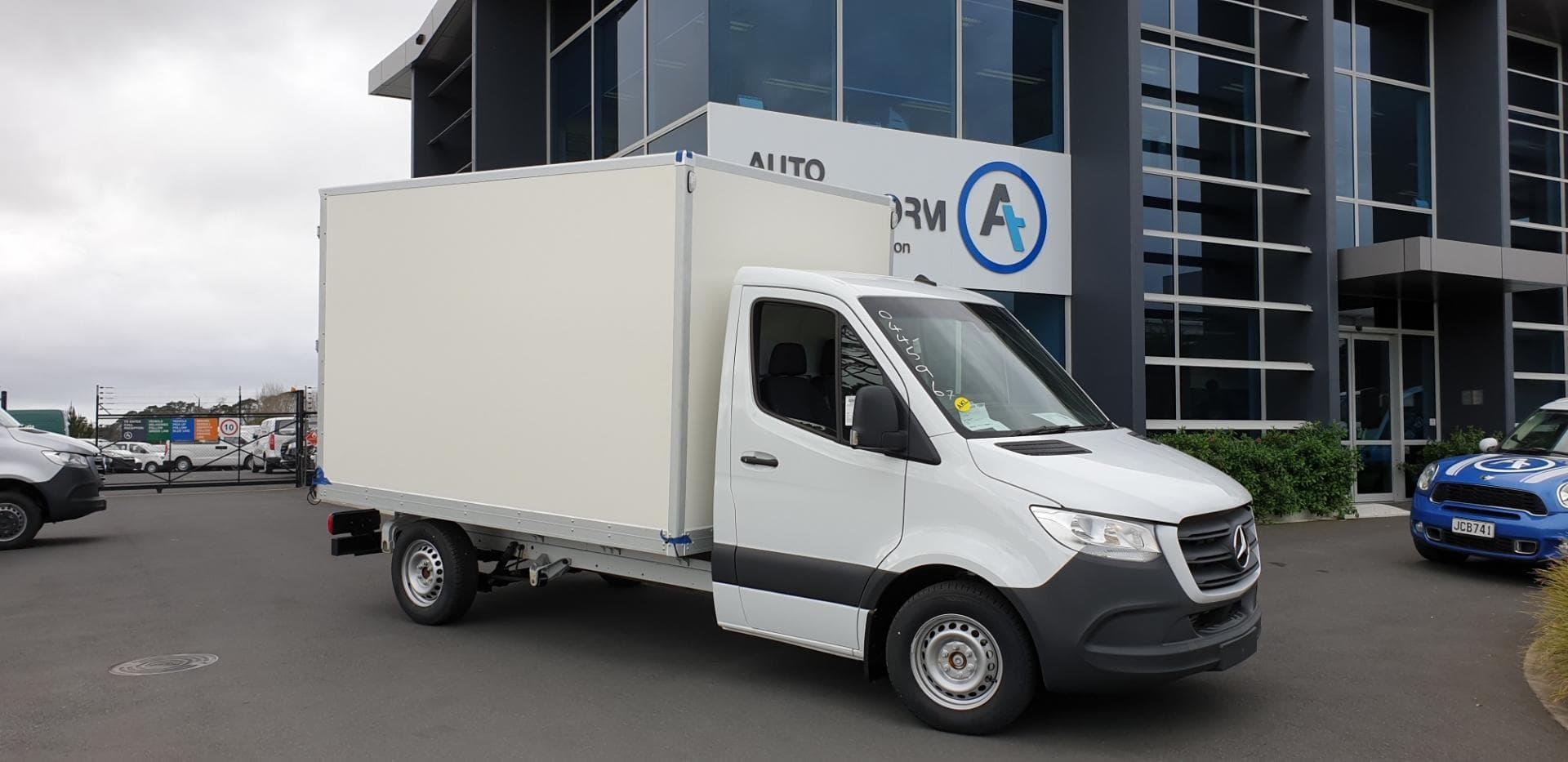 Custom truck box body