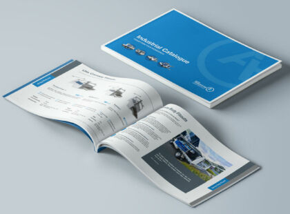 Industrial Catalogue Mockup