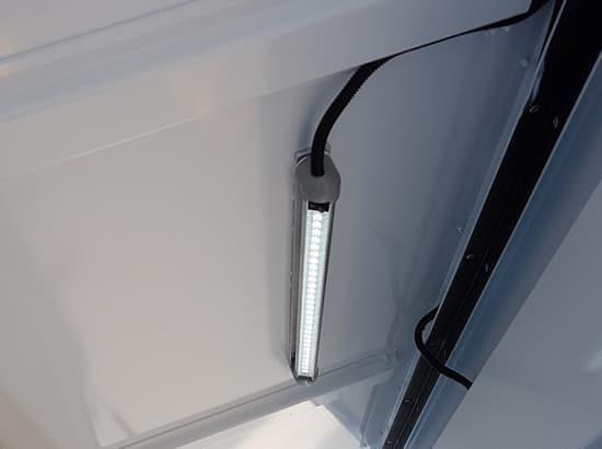 Internal lighting for ute