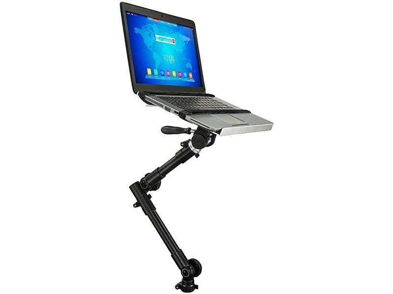 at laptop mount