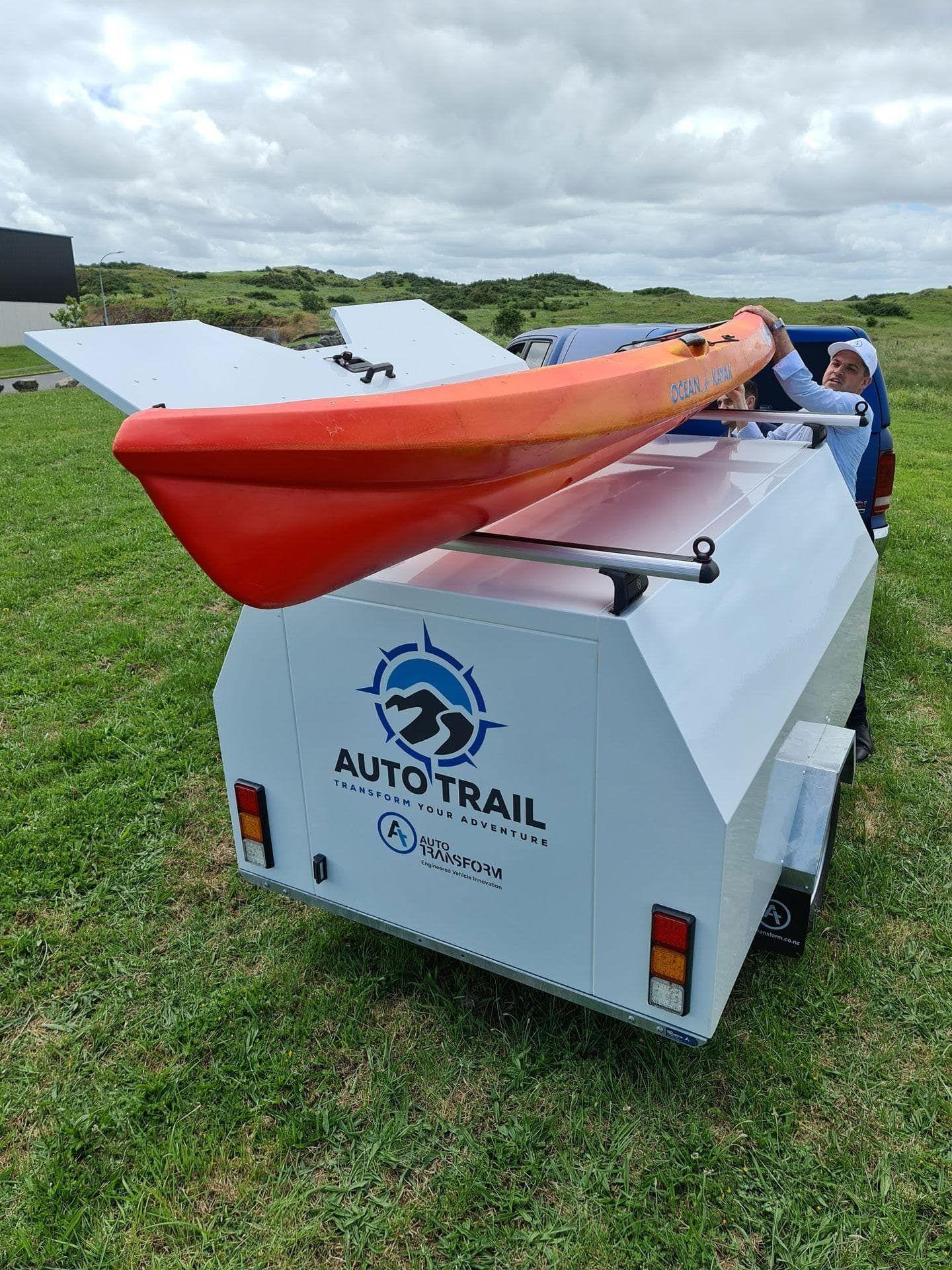 auto trail camping trailer