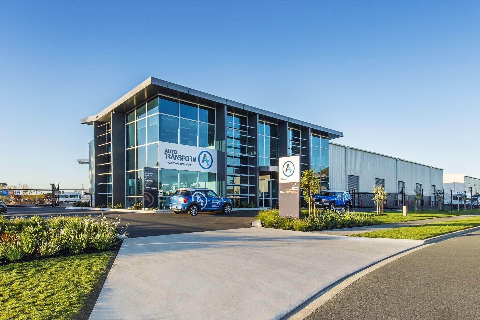 Auto transform building