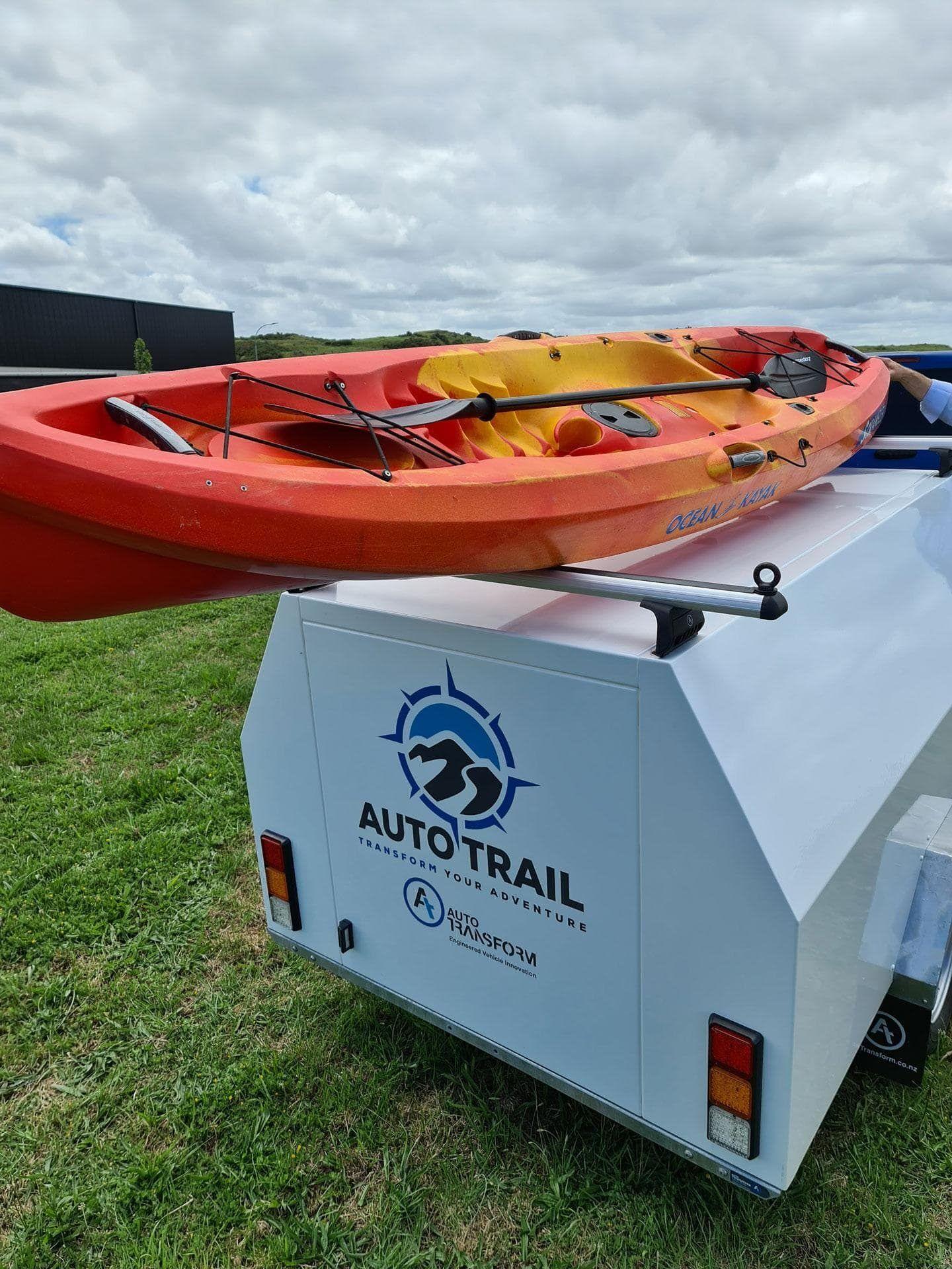 auto transform camping trailer