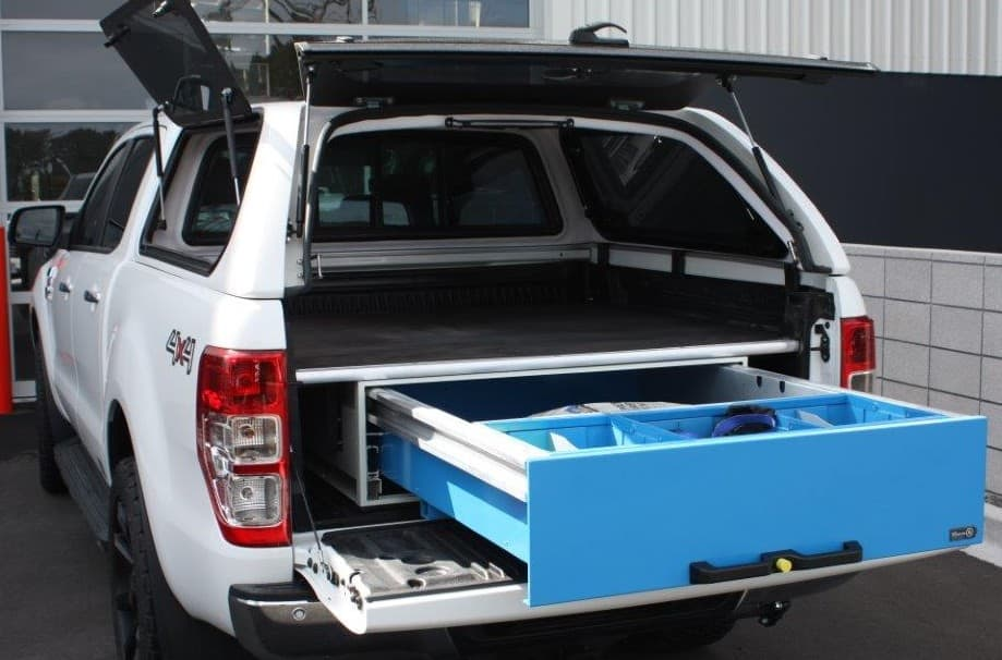 Commercial ute drawers