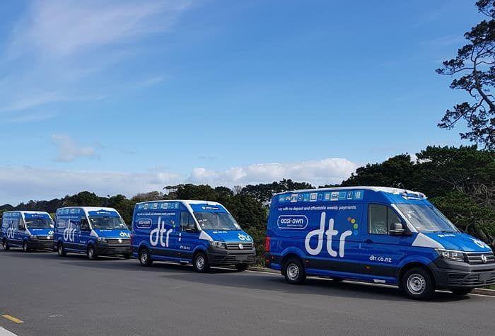 Commercial van fleet fitouts