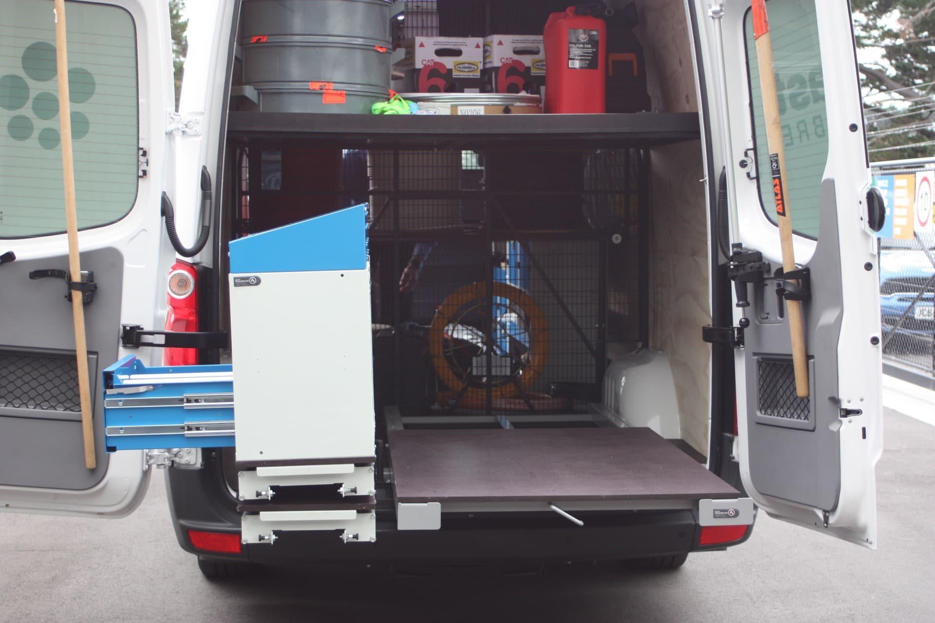Commercial van storage
