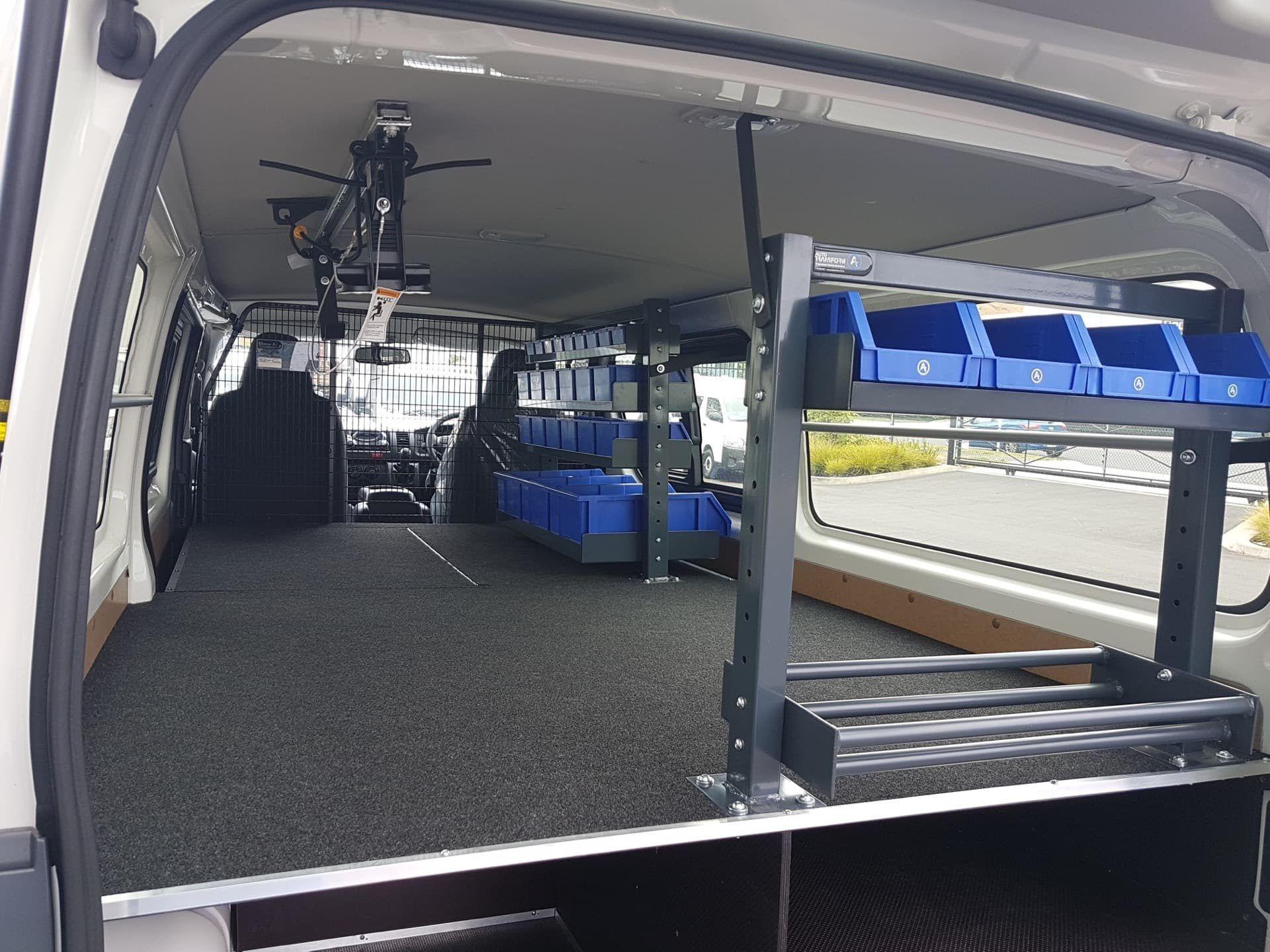 Custom van fitout