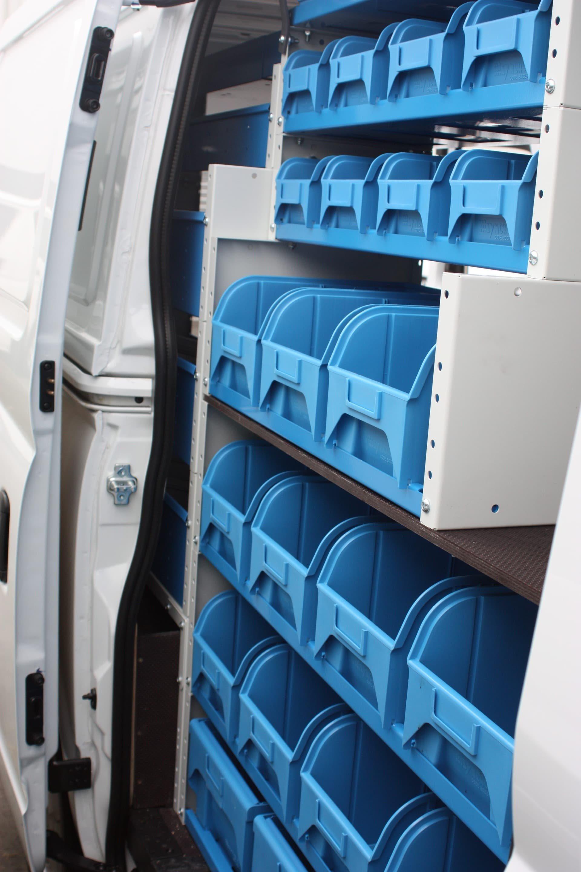 Drawer racks for van