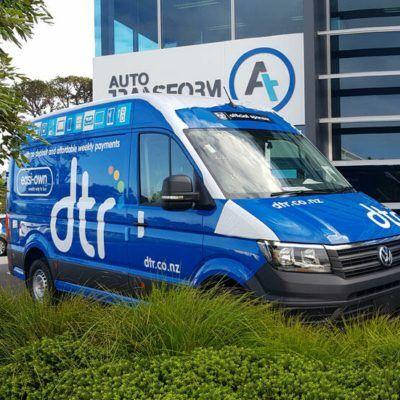 fleet branding vehicle signage dtr