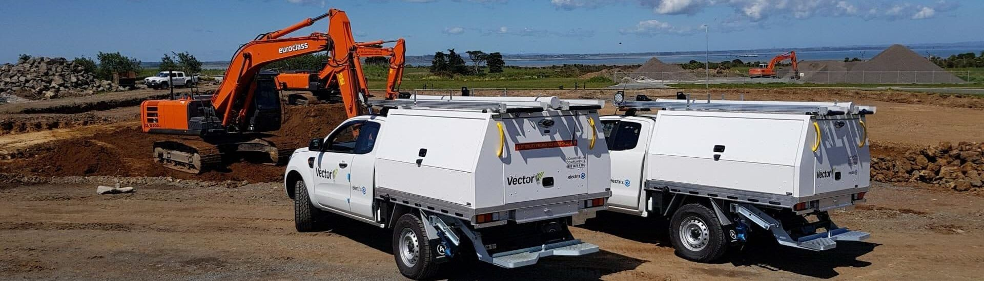 Professional service bodies for commercial ute fleet