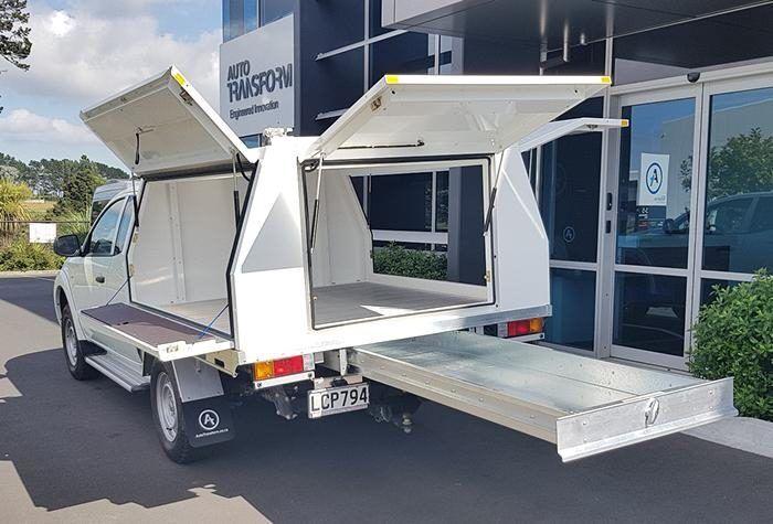 Ute aluminium full service body open