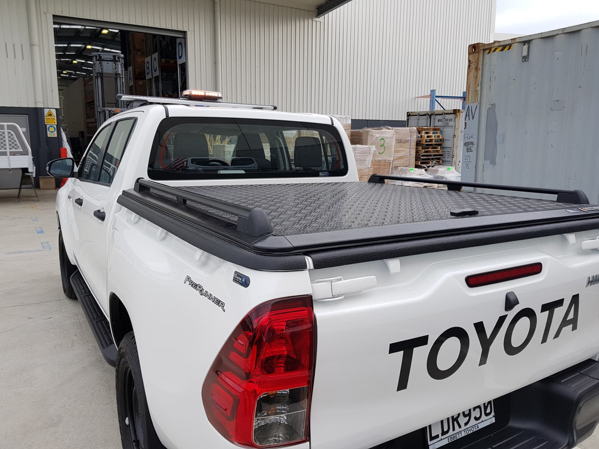 Ute lid for Toyota Hilux Ute