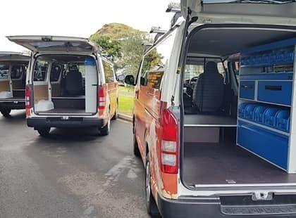 Van interior custom fitout