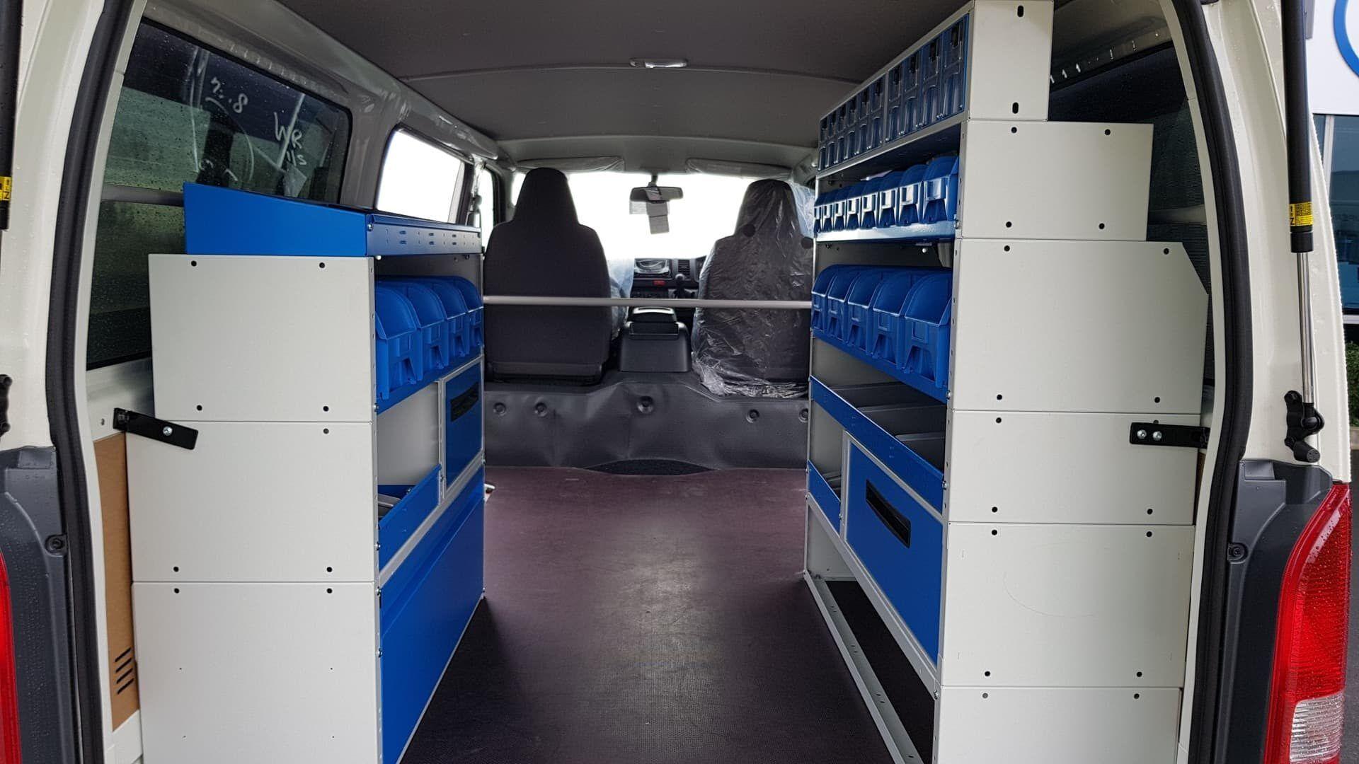 Van racking storage