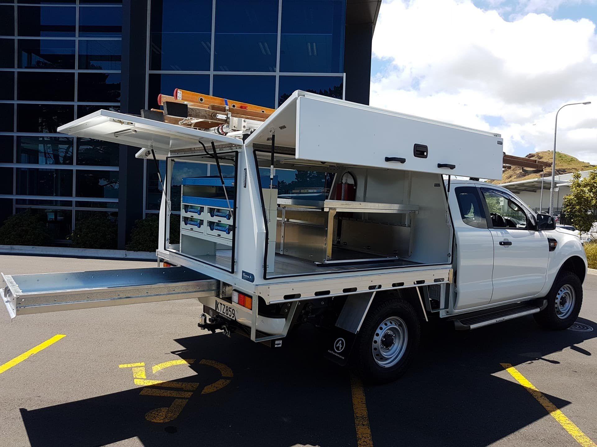 Van storage for tradies