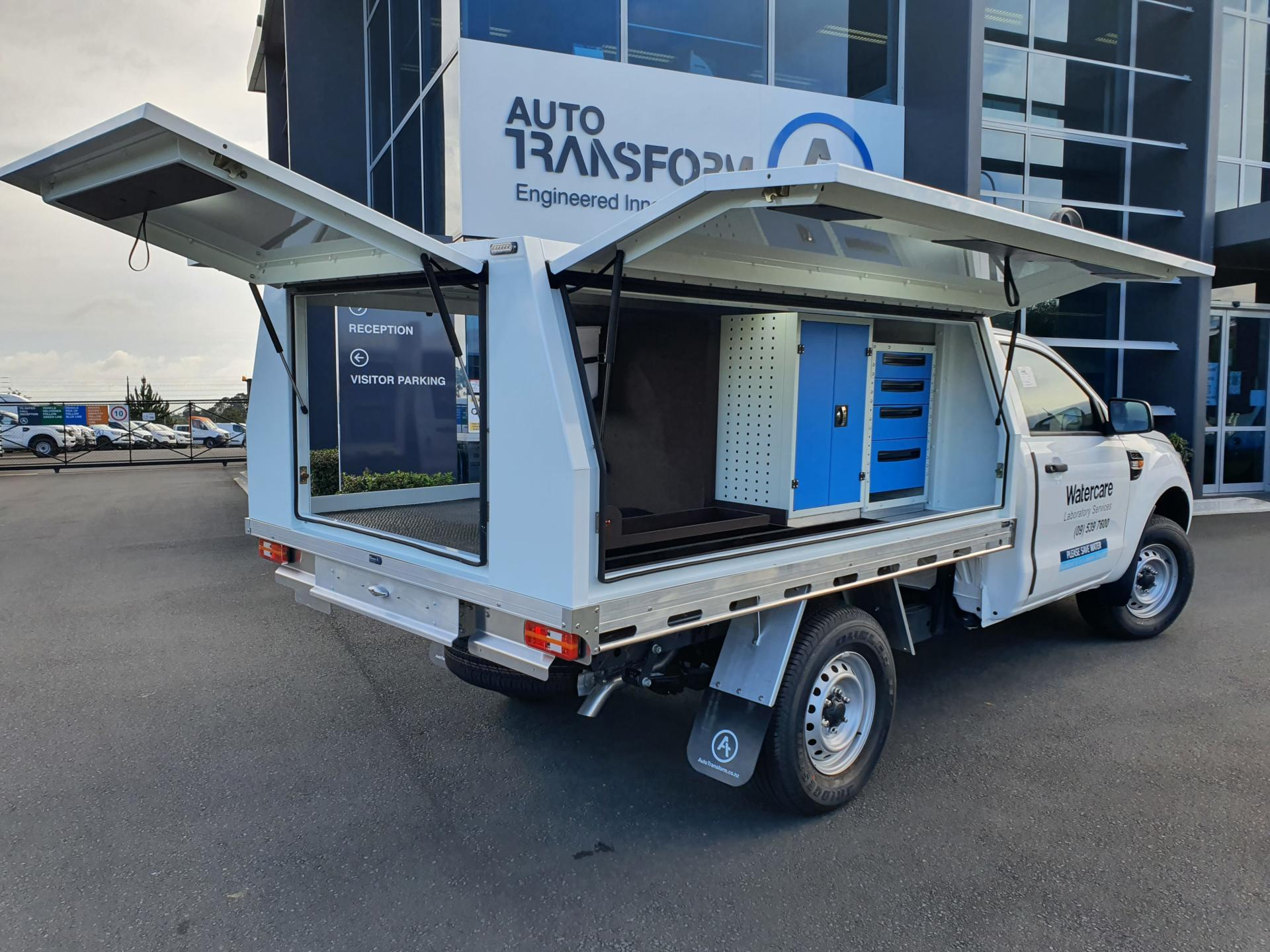 watercare ute fitout