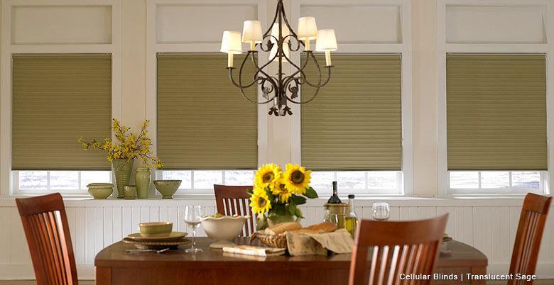 Translucent Honeycomb blinds