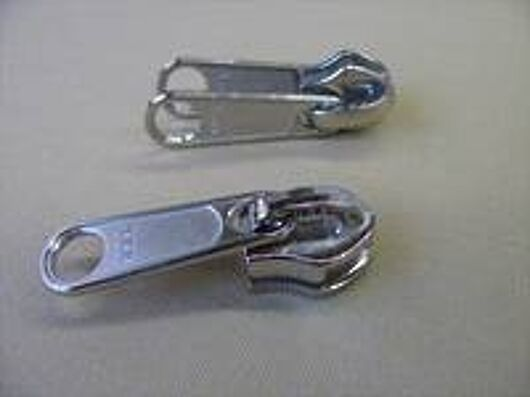 coil double tab slider nickel