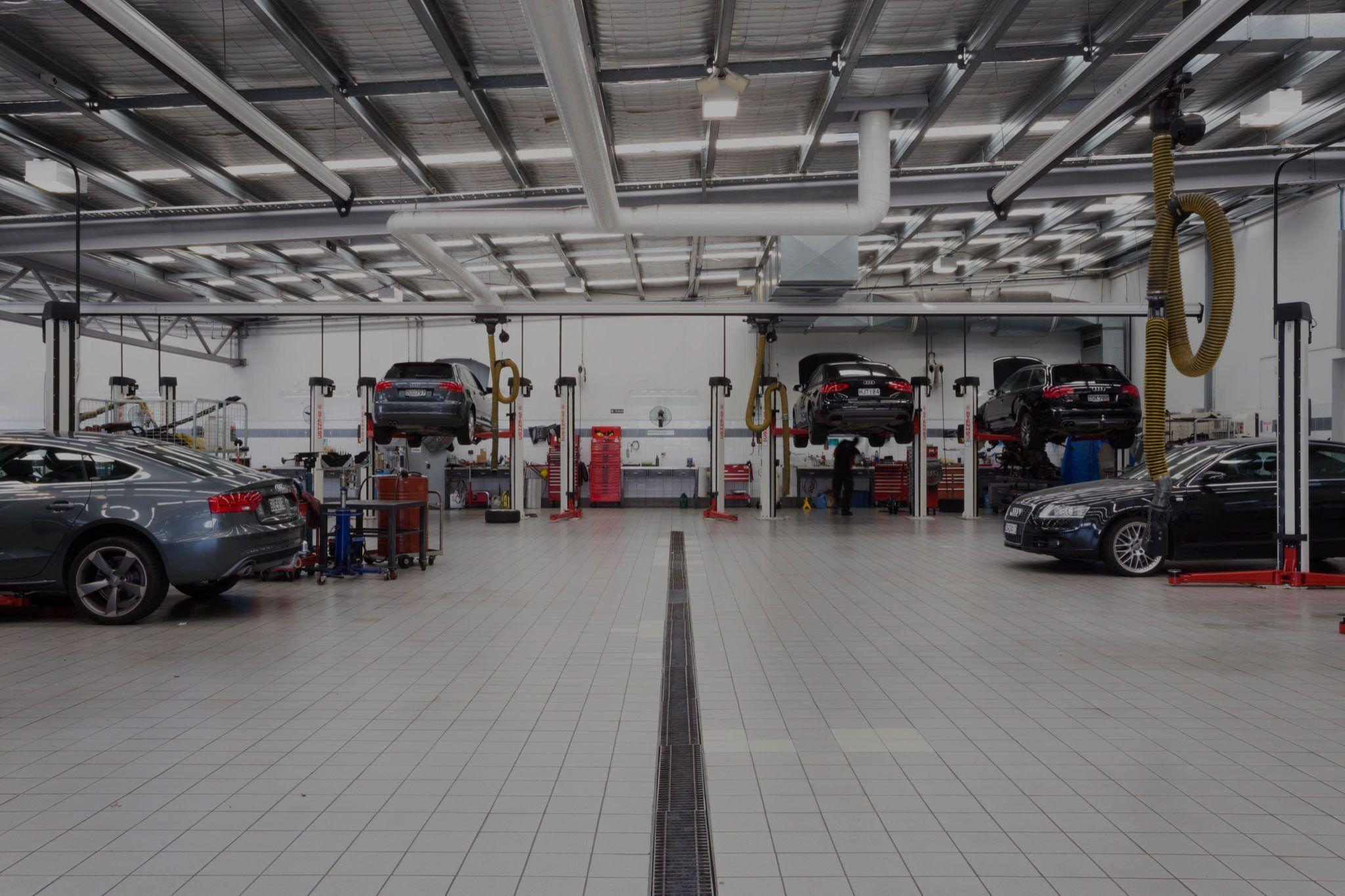 Audi Service Workshop