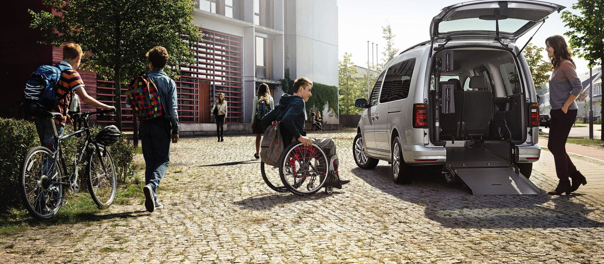 cc vw caddy mobility