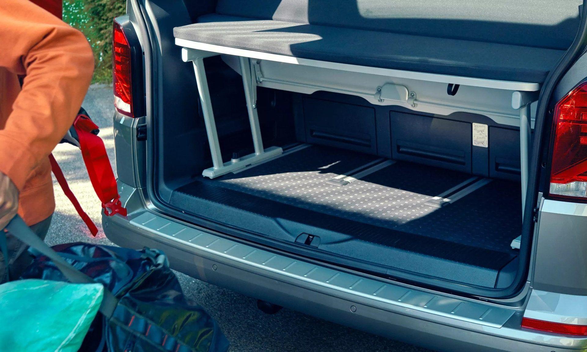 multivan storage