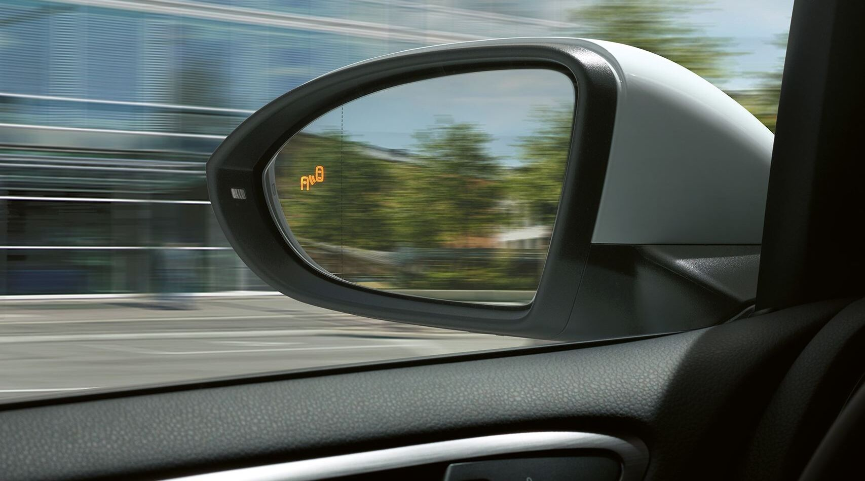 tiguan allspace blind spot monitor