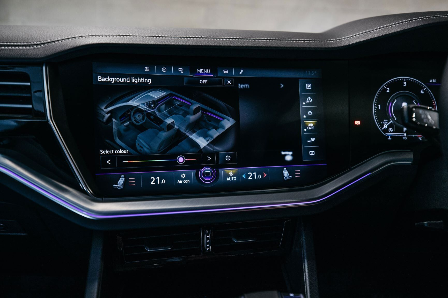 vw touareg interior inovation cockpit
