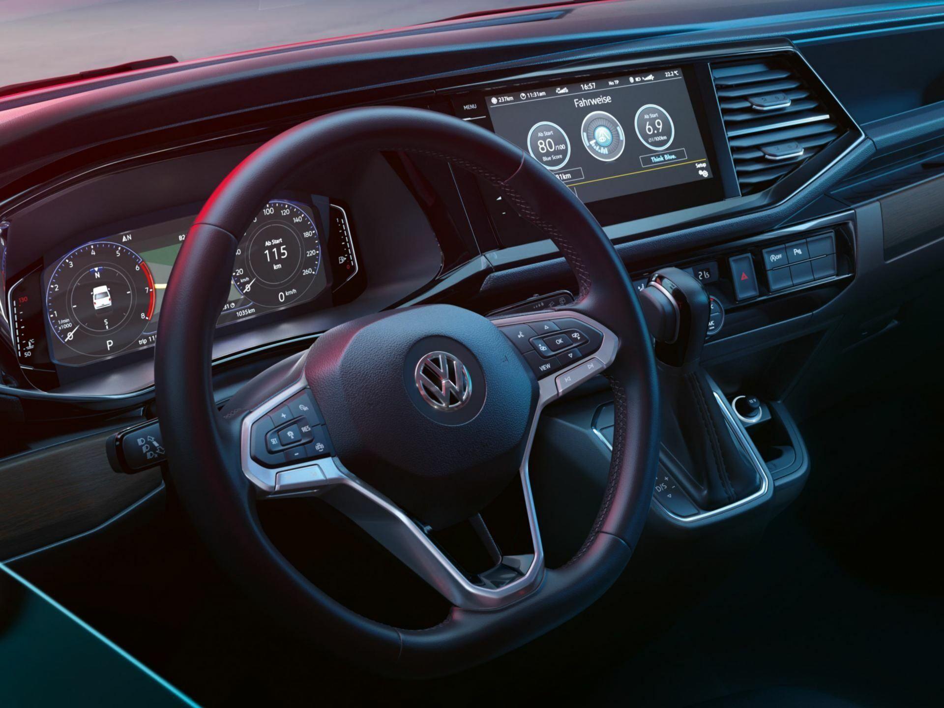 volkswagen california steering wheel