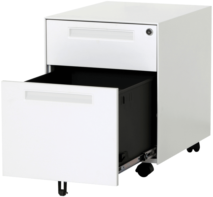 products TAB pedstal drawer open