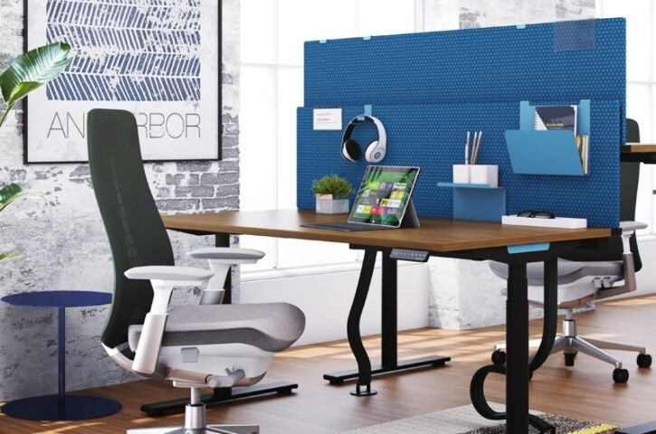 products HAT elements height  adjustable table insitu