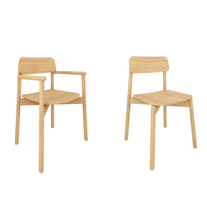products jasny side arm chair pair