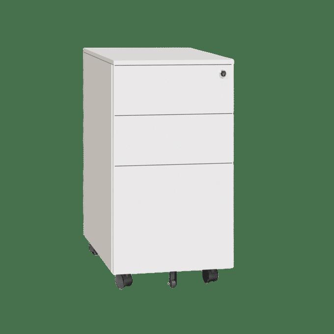 products slimline pedestal white