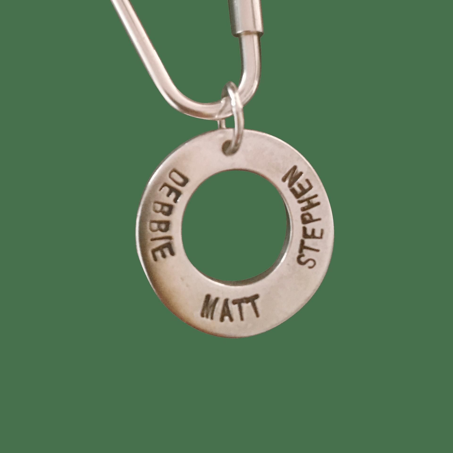 Family Ring on Keyring