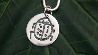 Little Works of Art Circle Key Ring
