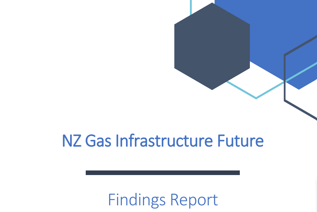Gas infrastructure report findings
