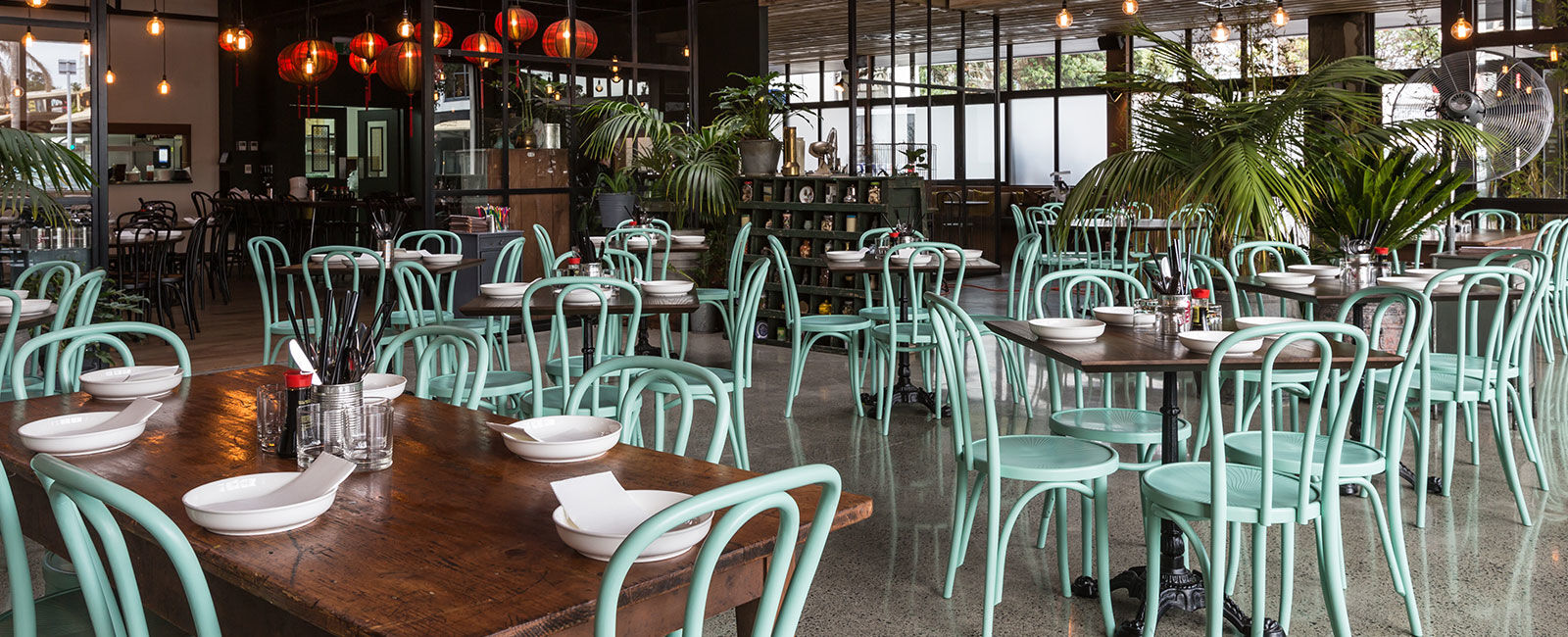 Madam Woo Takapuna Restaurant Furniture