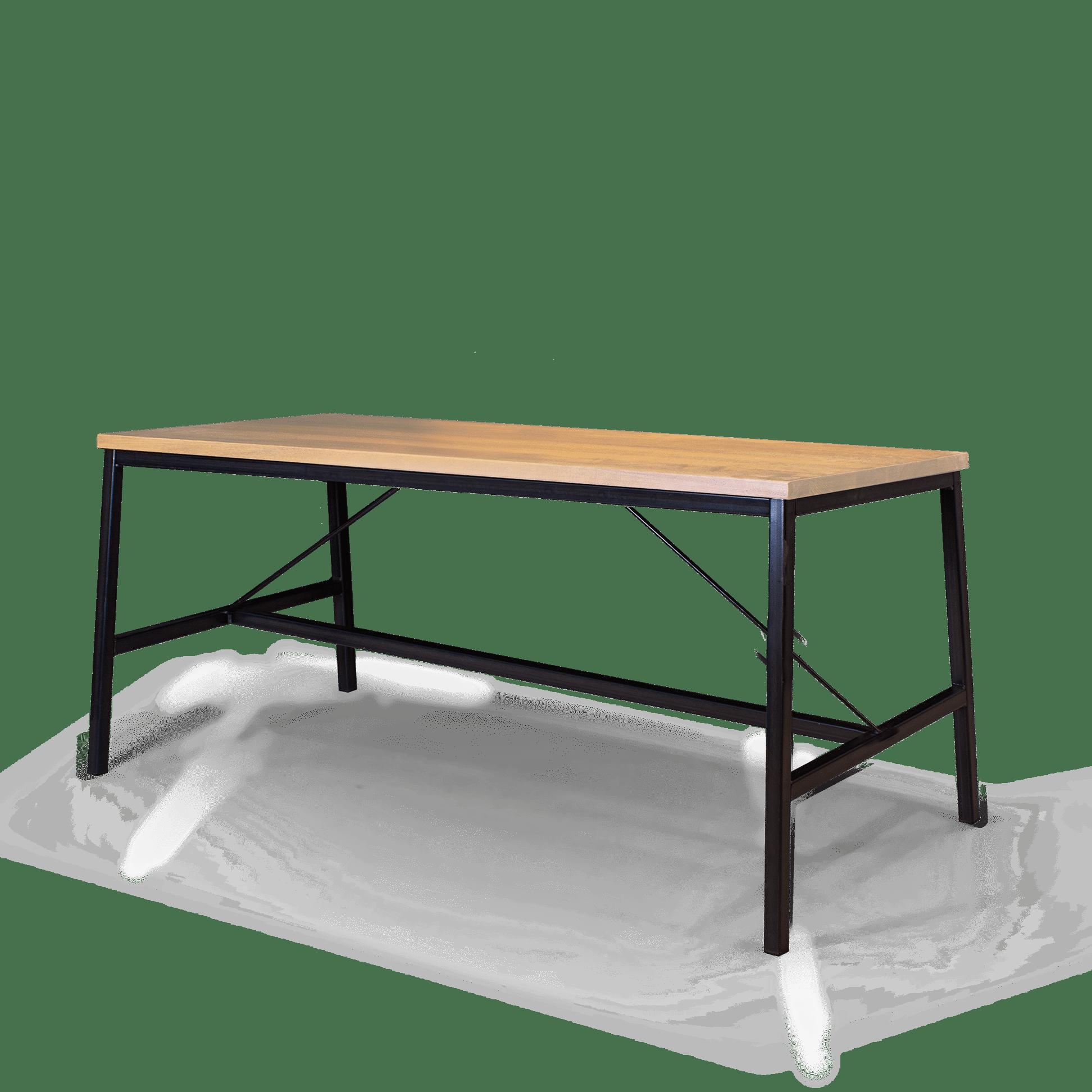 TB Fero Table Clear on Black web