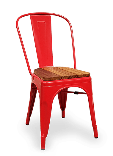 CH Harbour Chair Iroko Seat