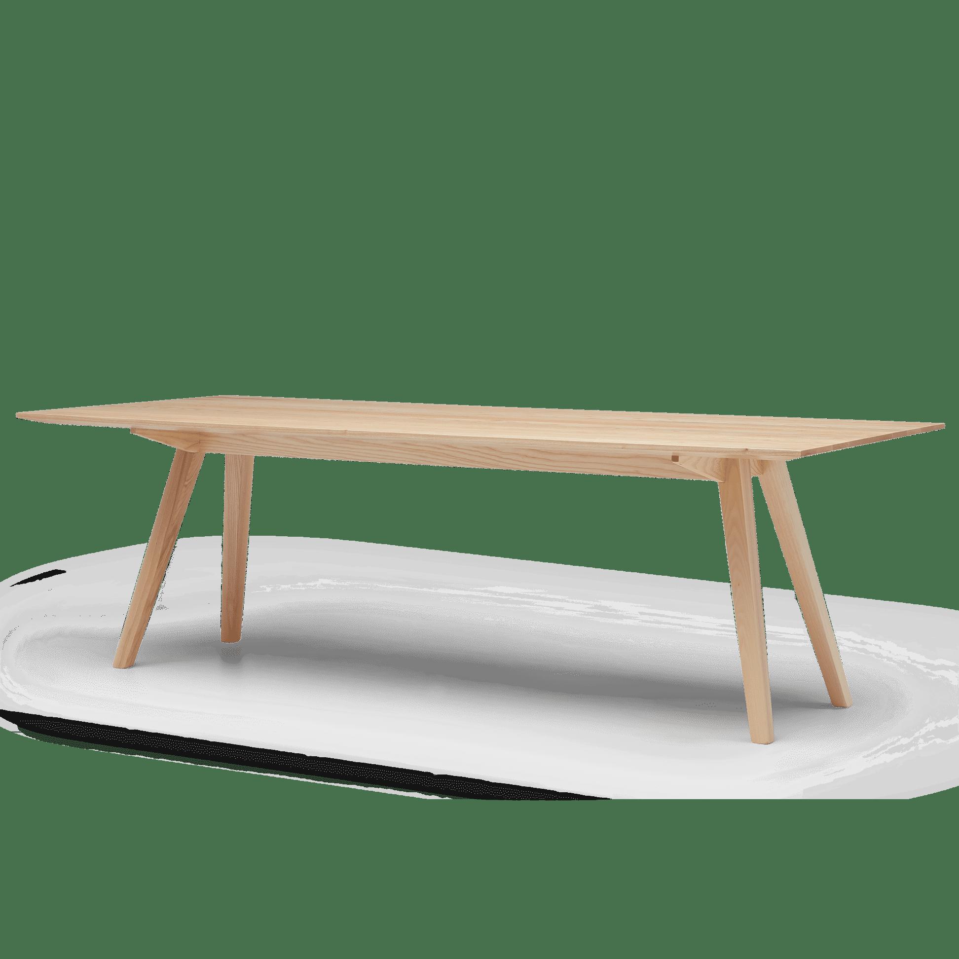 TB Ikon Meeting Table Clear Angled web