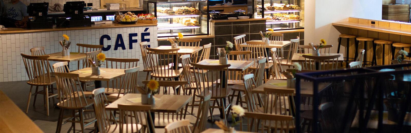 Cafe layout header