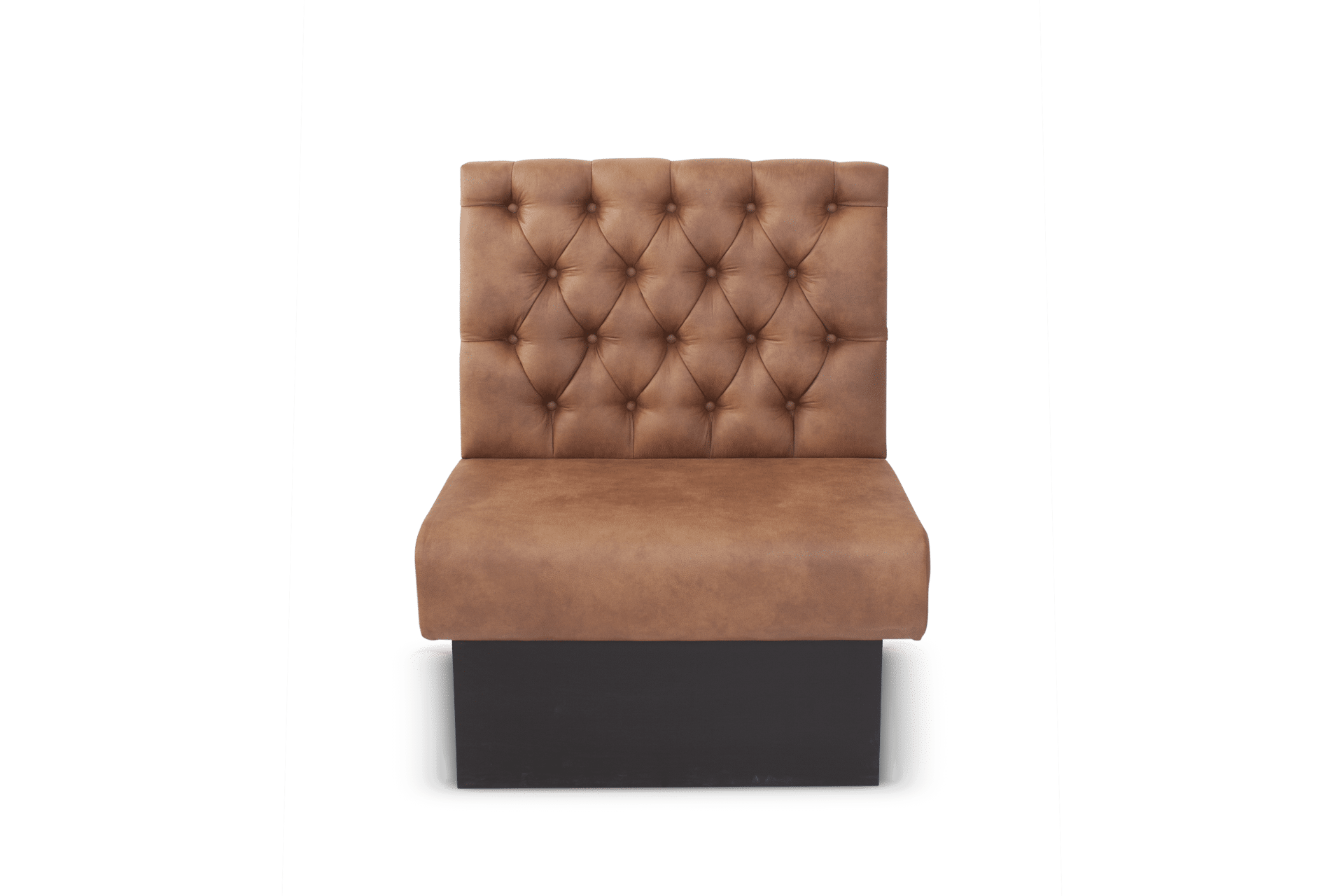 SS Solace Banquette Deep Button Rolled Edge