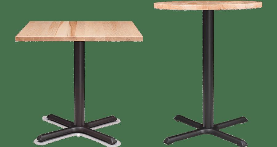 BA Crucifix Table Leaner Base Pedestal Table Cafe Table Base hospo