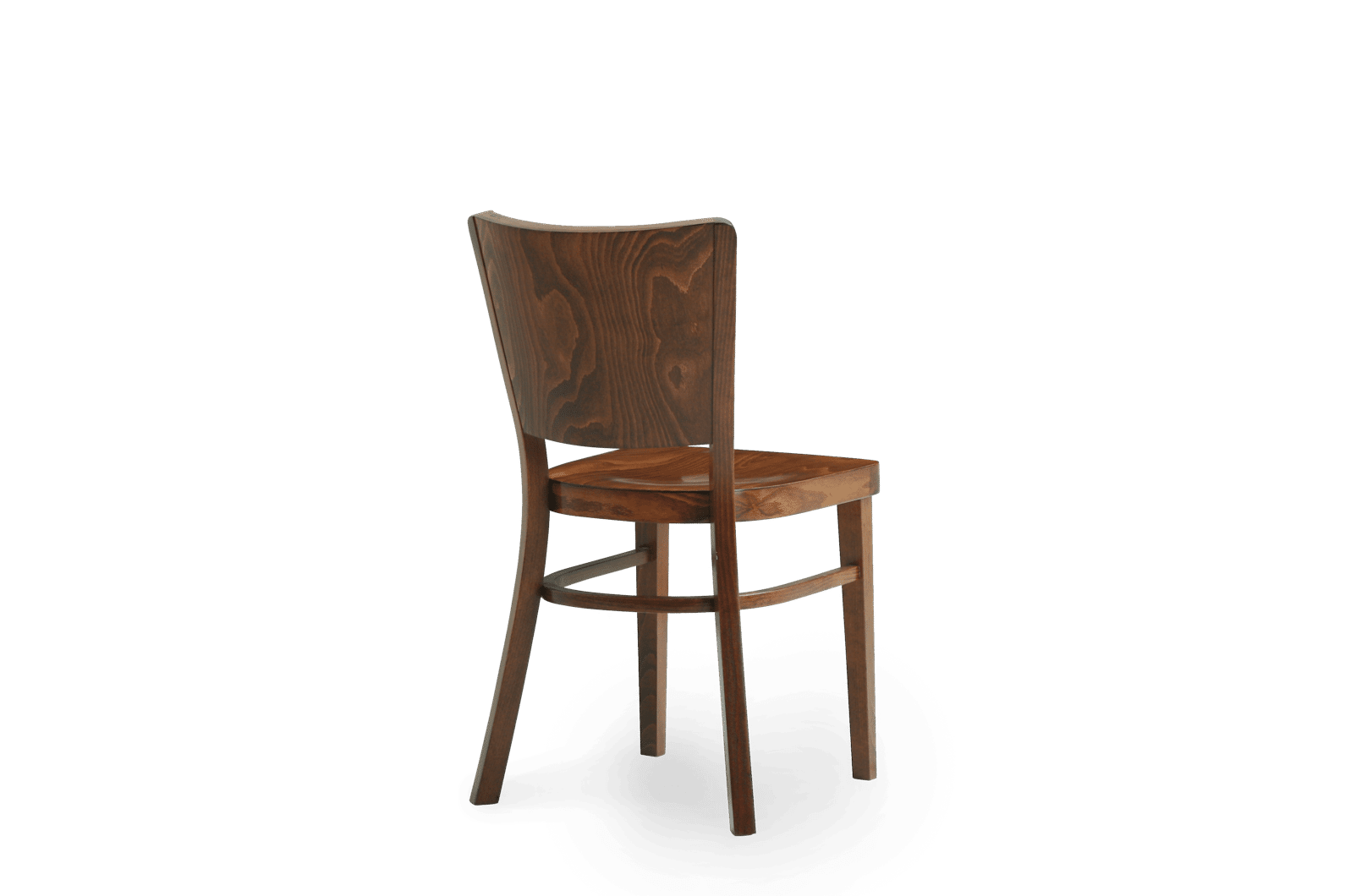 CH Berlin Chair Stained Walnut Back