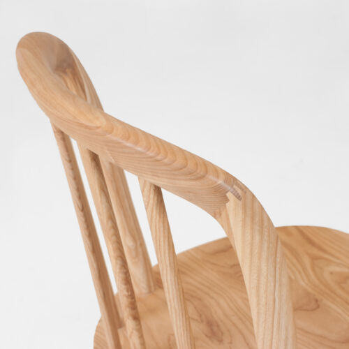 CH Chord Chair stained clear detail