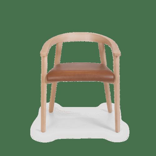 CH Cleo Armchair clear tan uphol