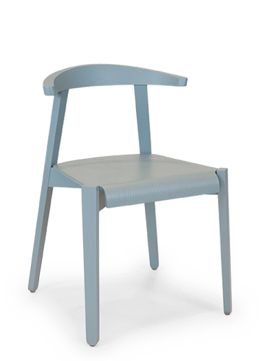 CH Cleo Chair painted blue sitewide