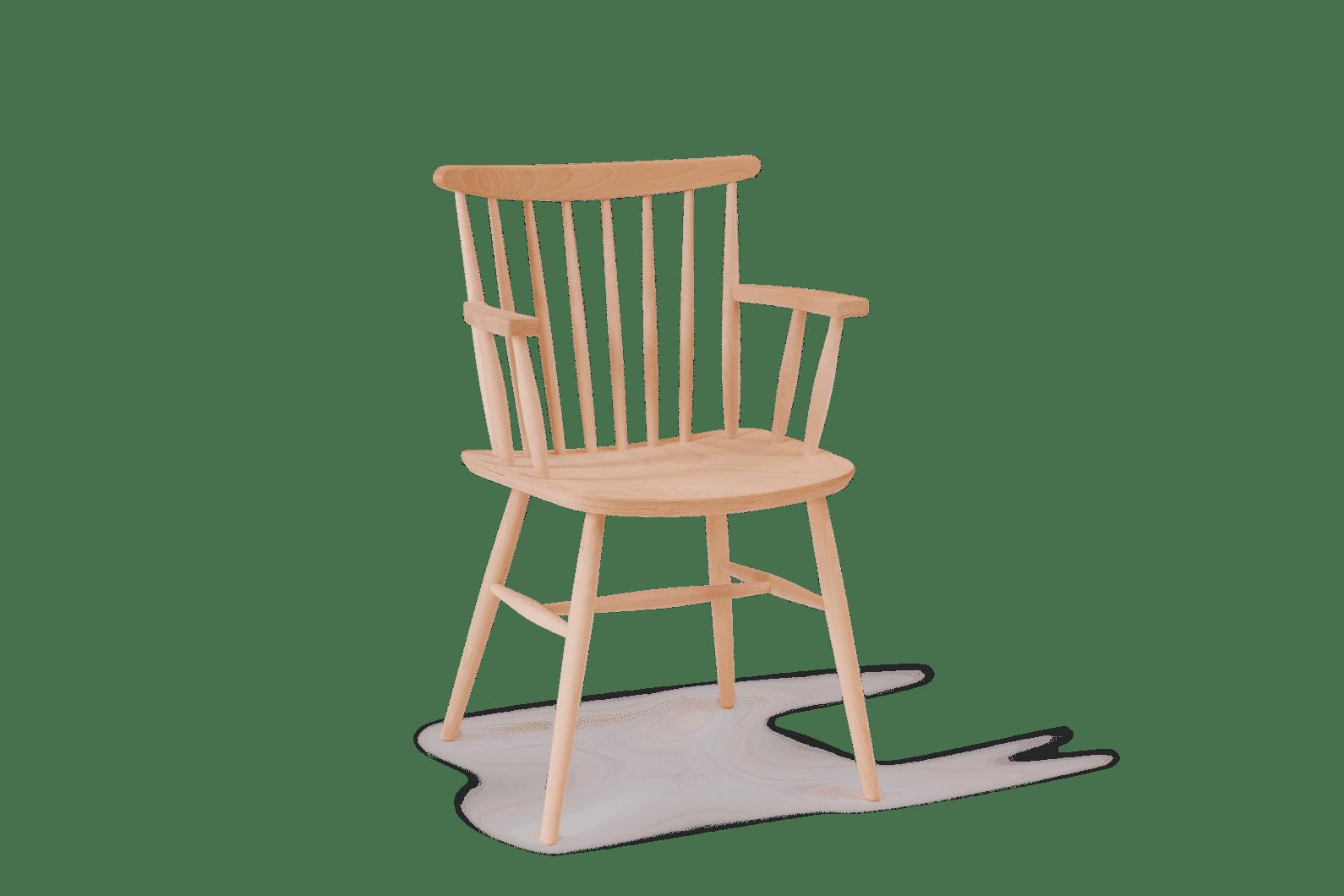 CH Da Vinci Armchair Stained Clear