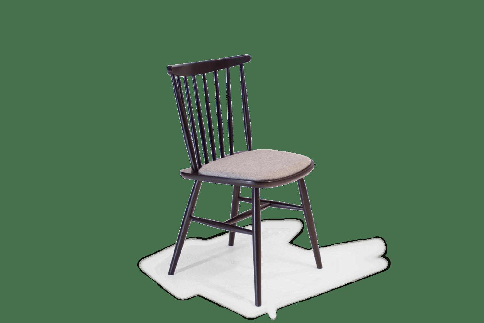 CH Da Vinci Chair Painted Black Uphol