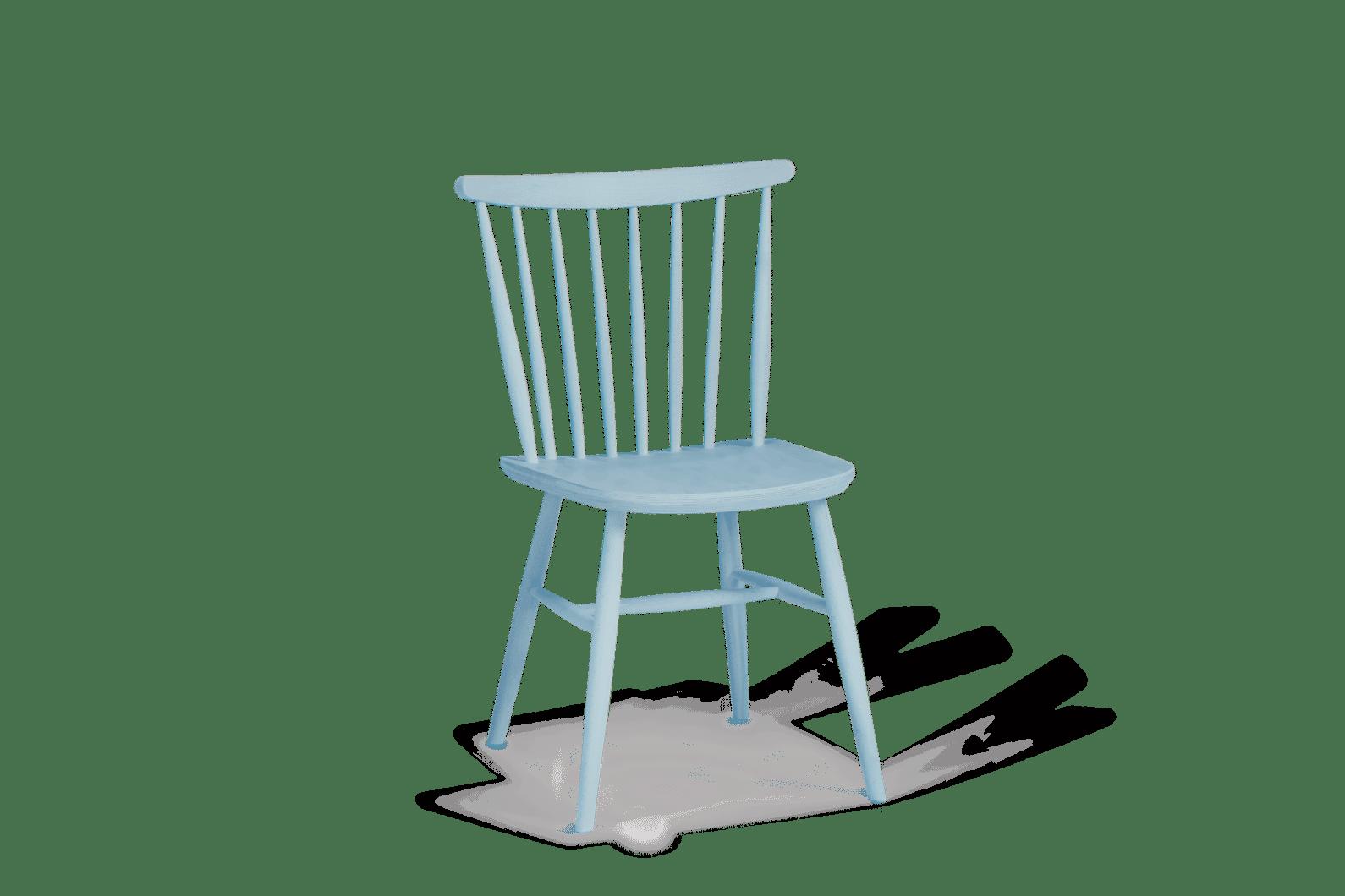 CH Da Vinci Chair Painted Blue